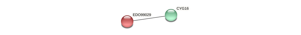 EDO99029 protein (Chlamydomonas reinhardtii) - STRING interaction network