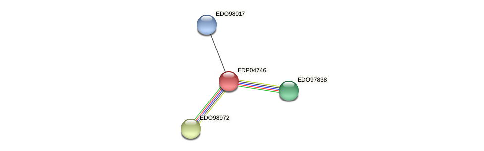 EDP04746 protein (Chlamydomonas reinhardtii) - STRING interaction network