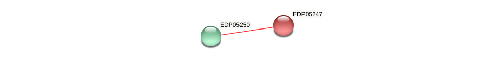 EDP05247 protein (Chlamydomonas reinhardtii) - STRING interaction network