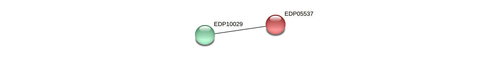 EDP05537 protein (Chlamydomonas reinhardtii) - STRING interaction network
