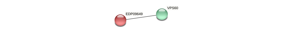 EDP09649 protein (Chlamydomonas reinhardtii) - STRING interaction network