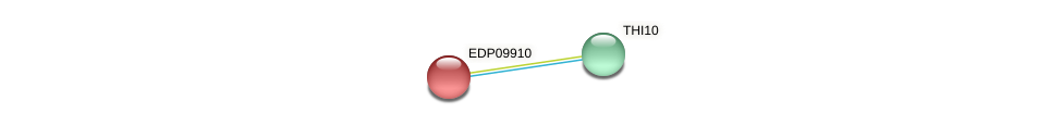 EDP09910 protein (Chlamydomonas reinhardtii) - STRING interaction network