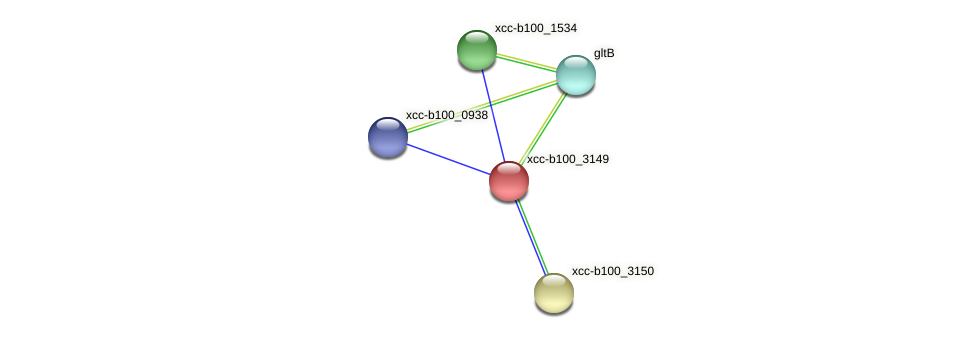 XCC1190 protein (Xanthomonas campestris campestris) - STRING interaction network