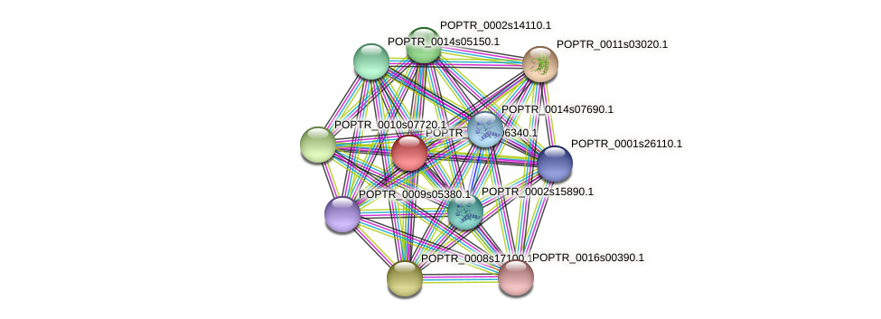 POPTR_0002s06340.1 protein (Populus trichocarpa) - STRING interaction network