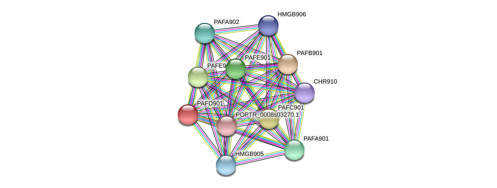 POPTR_0004s03960.1 protein (Populus trichocarpa) - STRING interaction network