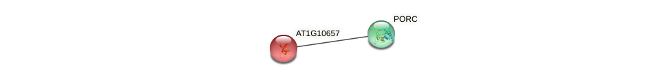 AT1G10657 protein (Arabidopsis thaliana) - STRING interaction network