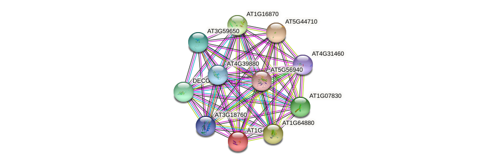 AT1G47278 protein (Arabidopsis thaliana) - STRING interaction network