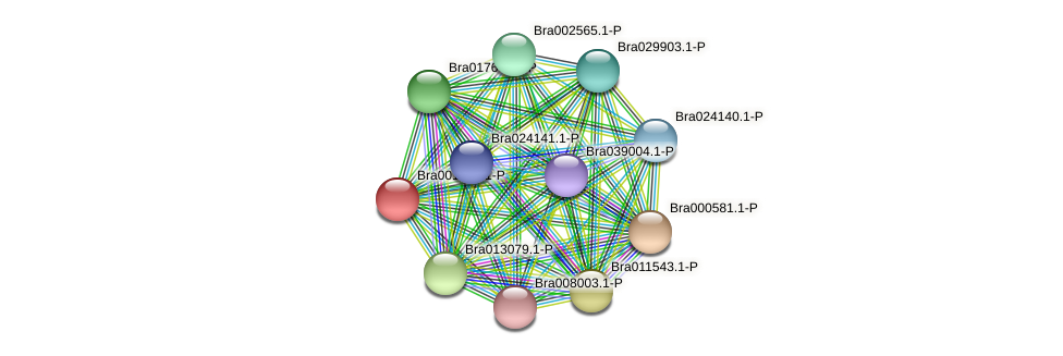 Bra001266 protein (Brassica rapa) - STRING interaction network