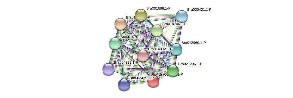 Bra004930 protein (Brassica rapa) - STRING interaction network