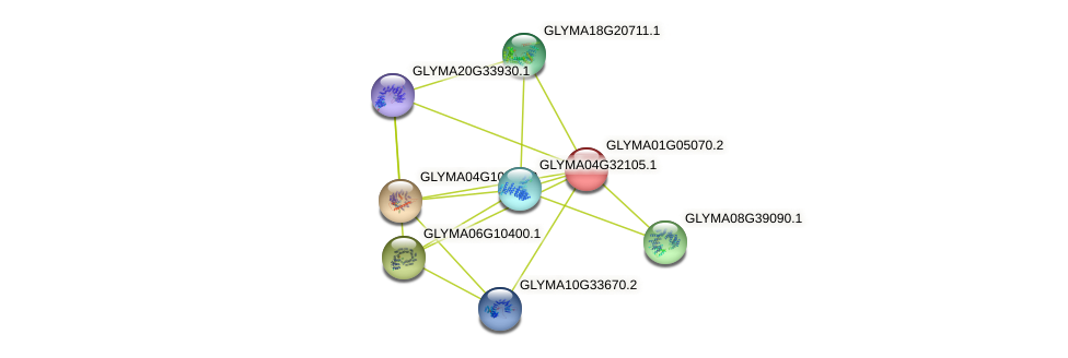 GLYMA01G05070.2 protein (Glycine max) - STRING interaction network