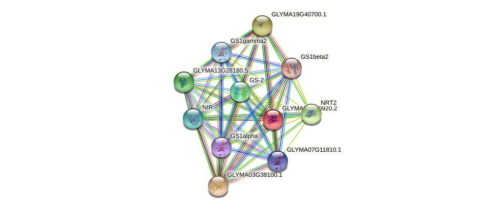GLYMA01G30920.2 protein (Glycine max) - STRING interaction network