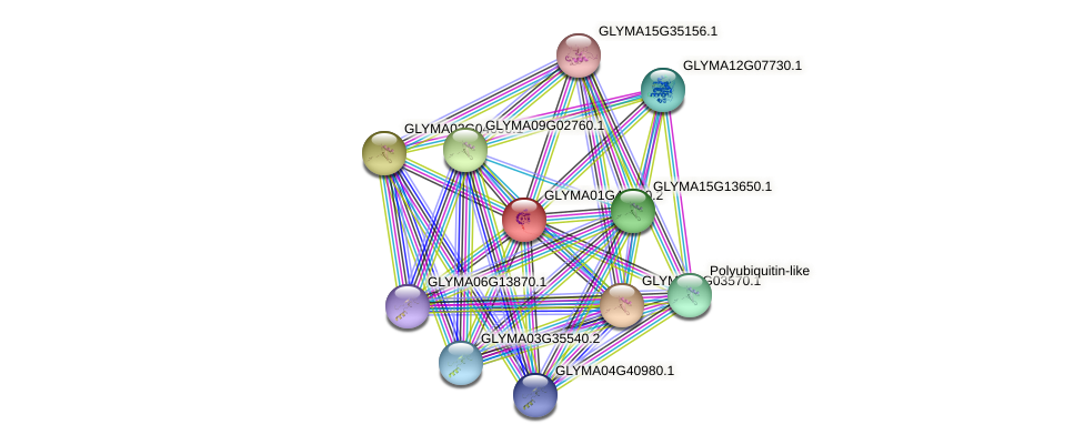 GLYMA01G41480.2 protein (Glycine max) - STRING interaction network