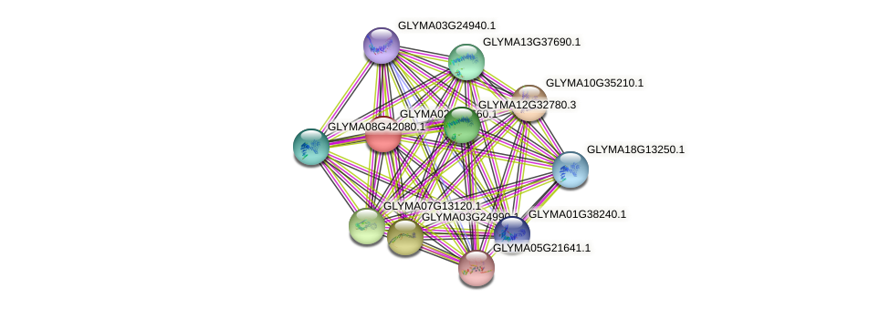 GLYMA02G38660.1 protein (Glycine max) - STRING interaction network