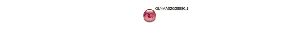 GLYMA02G38880.1 protein (Glycine max) - STRING interaction network