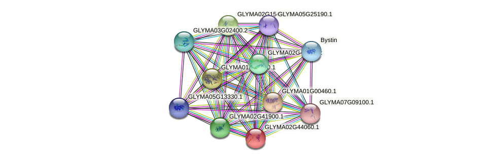 GLYMA02G44060.1 protein (Glycine max) - STRING interaction network