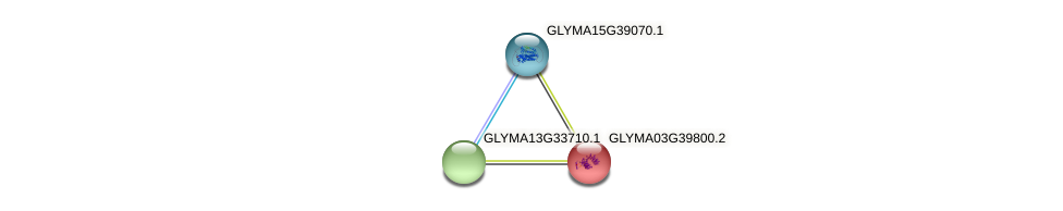 GLYMA03G39800.2 protein (Glycine max) - STRING interaction network