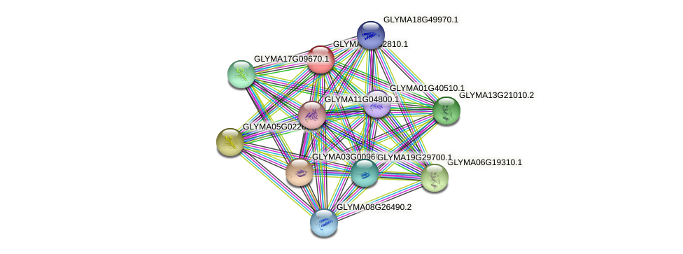 GLYMA04G32810.1 protein (Glycine max) - STRING interaction network