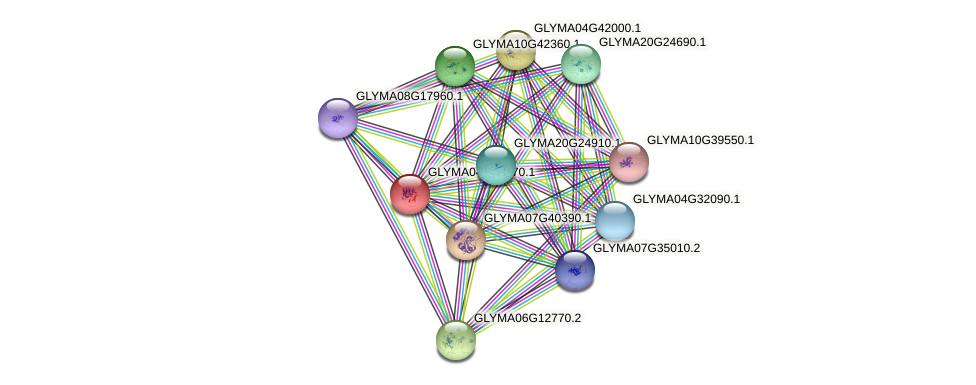 GLYMA04G32970.1 protein (Glycine max) - STRING interaction network