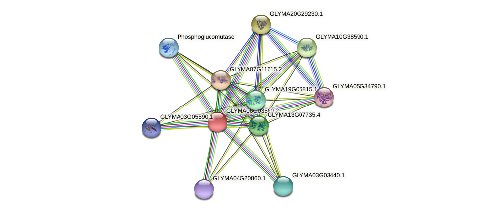 GLYMA06G03560.2 protein (Glycine max) - STRING interaction network
