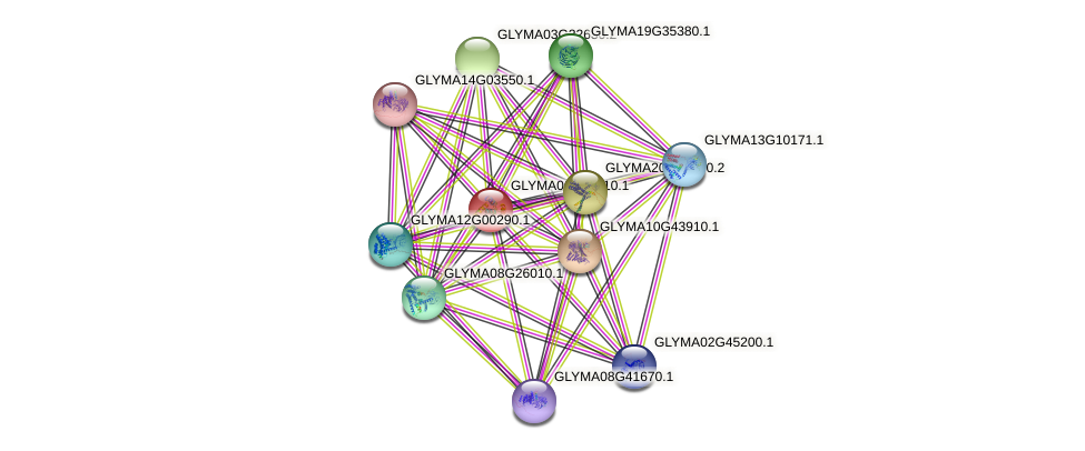 GLYMA06G44110.1 protein (Glycine max) - STRING interaction network