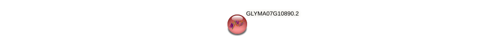 GLYMA07G10890.2 protein (Glycine max) - STRING interaction network