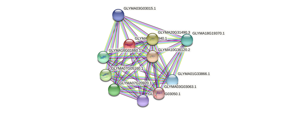 GLYMA08G23840.1 protein (Glycine max) - STRING interaction network