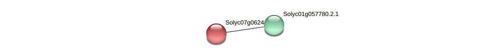 Solyc07g062440.1.1 protein (Solanum lycopersicum) - STRING interaction network