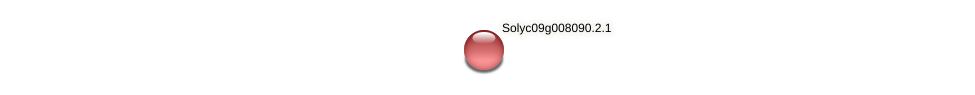Solyc09g008090.2.1 protein (Solanum lycopersicum) - STRING interaction network