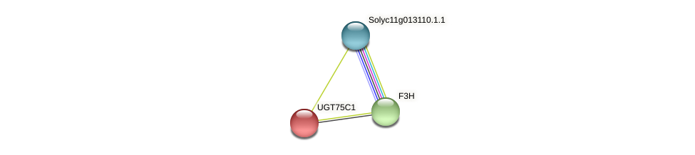 Solyc09g092500.1.1 protein (Solanum lycopersicum) - STRING interaction network