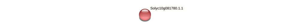 Solyc10g081780.1.1 protein (Solanum lycopersicum) - STRING interaction network