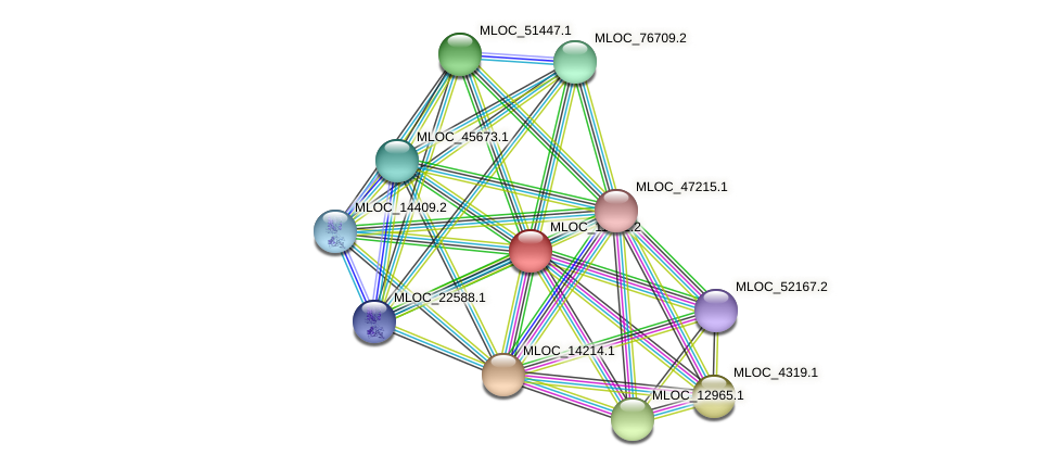 MLOC_11291.2 protein (Hordeum vulgare) - STRING interaction network
