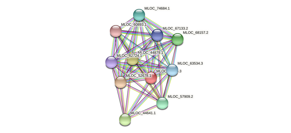 MLOC_11659.3 protein (Hordeum vulgare) - STRING interaction network
