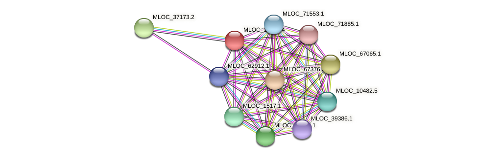 MLOC_15735.4 protein (Hordeum vulgare) - STRING interaction network