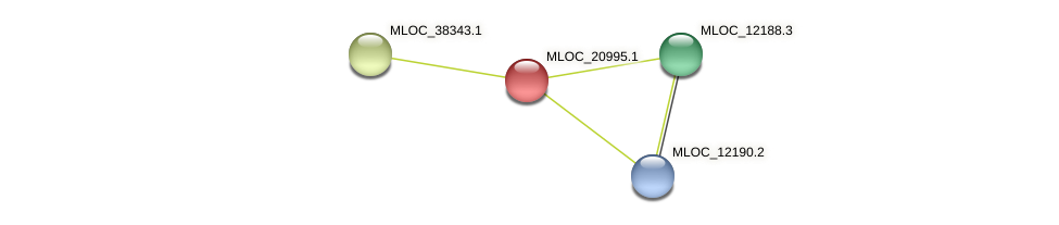 MLOC_20995.1 protein (Hordeum vulgare) - STRING interaction network