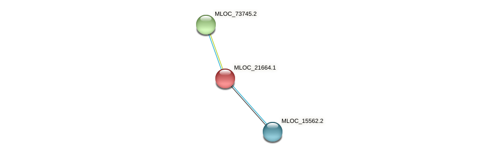 MLOC_21664.1 protein (Hordeum vulgare) - STRING interaction network