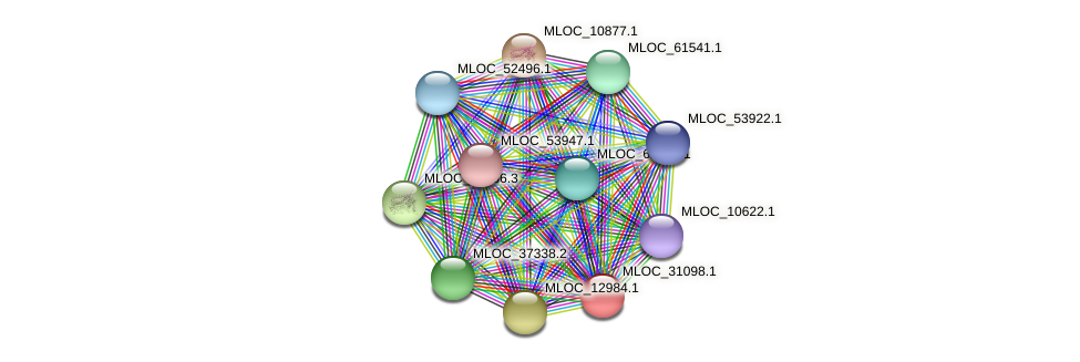 MLOC_31098.1 protein (Hordeum vulgare) - STRING interaction network