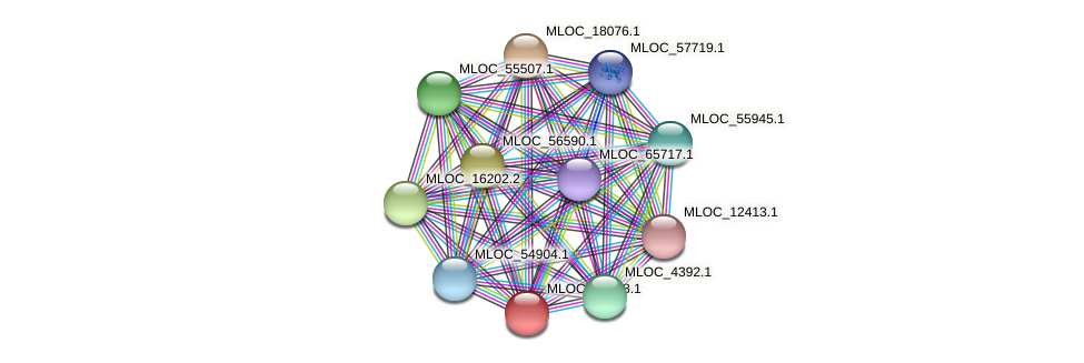 MLOC_32958.1 protein (Hordeum vulgare) - STRING interaction network