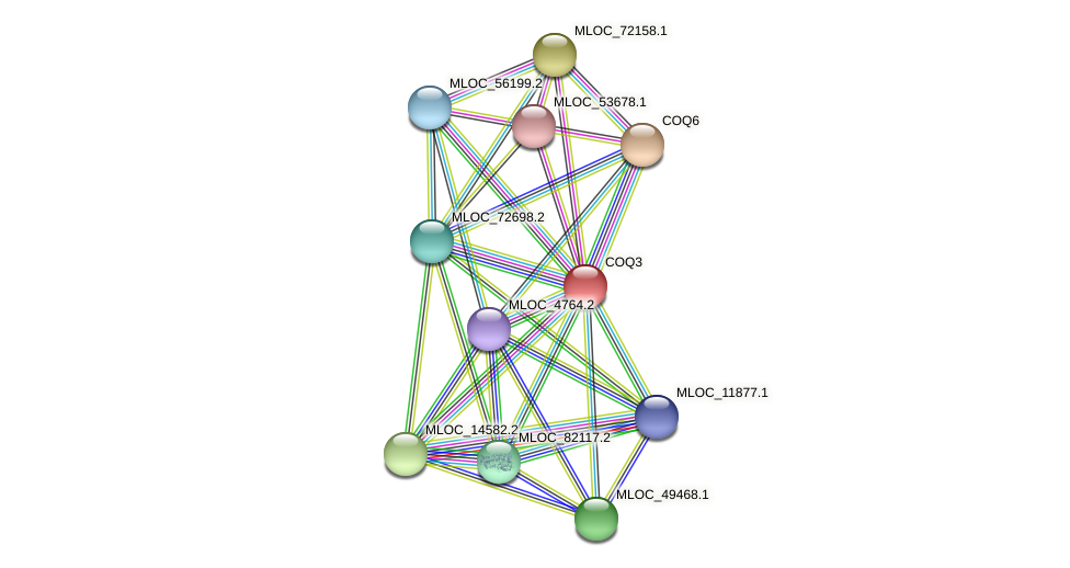 MLOC_36746.1 protein (Hordeum vulgare) - STRING interaction network