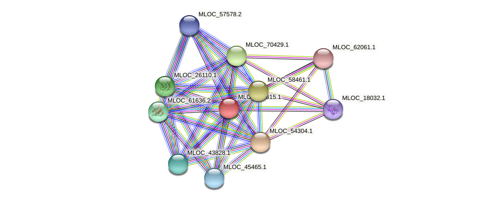 MLOC_37615.1 protein (Hordeum vulgare) - STRING interaction network