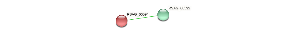 RSAG_00594 protein (Ruminococcus sp. 5139BFAA) - STRING interaction network