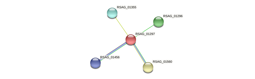RSAG_01297 protein (Ruminococcus sp. 5139BFAA) - STRING interaction network