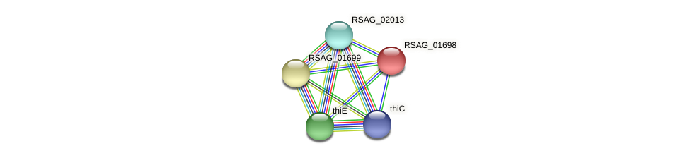 RSAG_01698 protein (Ruminococcus sp. 5139BFAA) - STRING interaction network