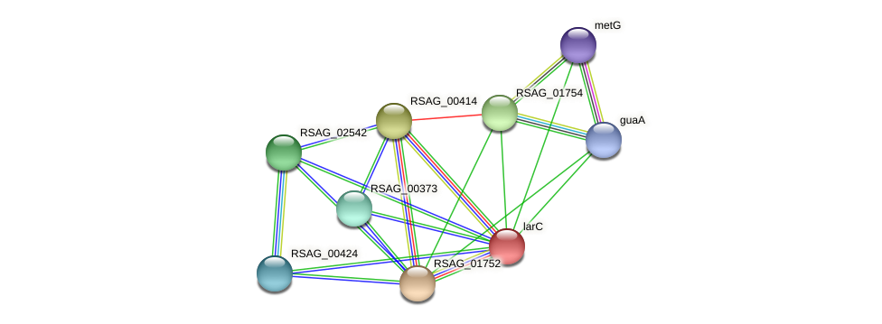 RSAG_01751 protein (Ruminococcus sp. 5139BFAA) - STRING interaction network