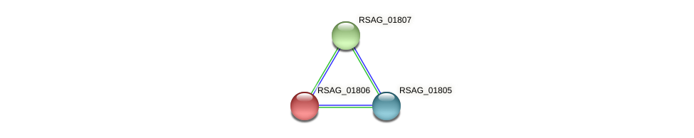 RSAG_01806 protein (Ruminococcus sp. 5139BFAA) - STRING interaction network