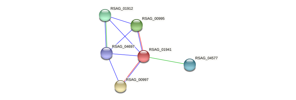 RSAG_01941 protein (Ruminococcus sp. 5139BFAA) - STRING interaction network