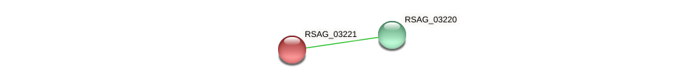 RSAG_03221 protein (Ruminococcus sp. 5139BFAA) - STRING interaction network