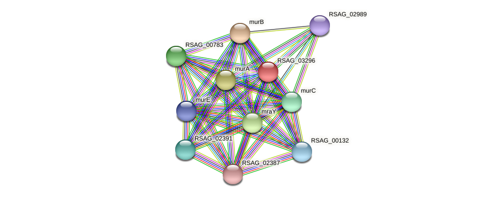 RSAG_03296 protein (Ruminococcus sp. 5139BFAA) - STRING interaction network