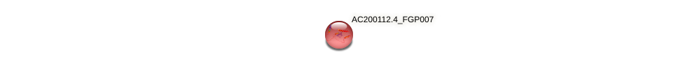 AC200112.4_FGP007 protein (Zea mays) - STRING interaction network