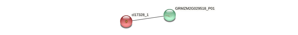 cl17328_1 protein (Zea mays) - STRING interaction network