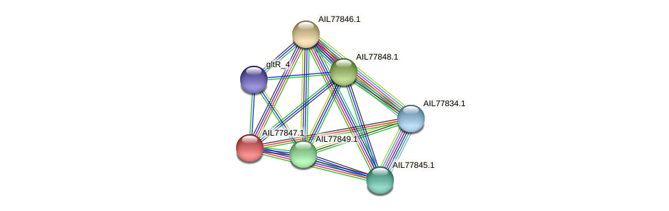 AIL77847.1 protein (Acinetobacter baumannii) - STRING interaction network